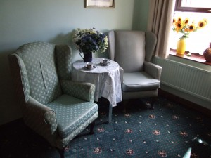 A Bedroom at Charnley House