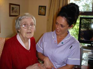 Caring Staff Support Residents