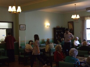 The Dining Room at Charnley House